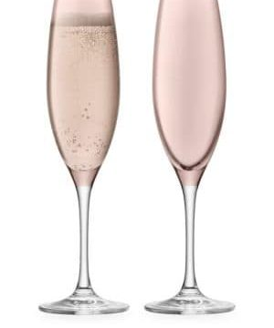 Sorbet Two-Piece Champagne Flute Set