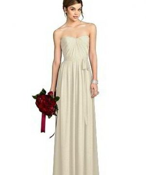 Special Order After Six Shimmer Bridesmaid Dress 6678LS