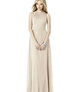 Special Order After Six Shimmer Bridesmaid Dress 6704LS