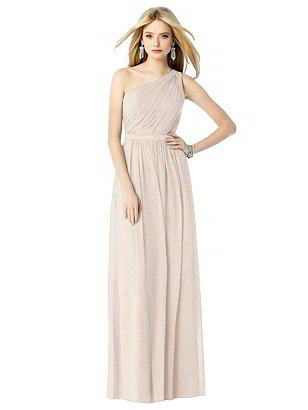 Special Order After Six Shimmer Bridesmaid Dress 6706LS