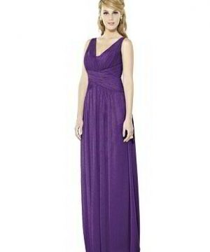 Special Order After Six Shimmer Bridesmaid Dress 6711LS