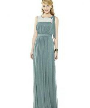 Special Order After Six Shimmer Bridesmaid Dress 6714LS
