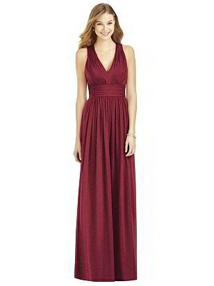 Special Order After Six Shimmer Bridesmaid Dress 6752LS