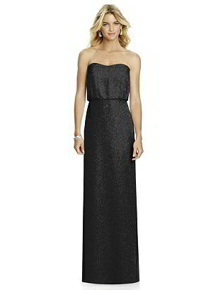 Special Order After Six Shimmer Bridesmaid Dress 6761LS