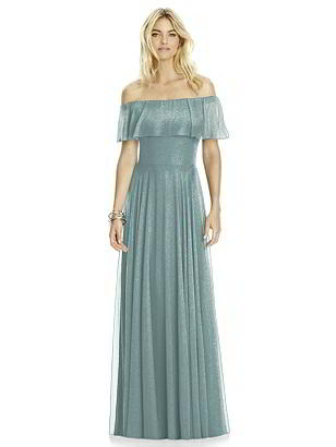 Special Order After Six Shimmer Bridesmaid Dress 6763LS