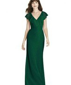 Special Order After Six Shimmer Bridesmaid Dress 6779LS
