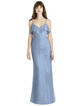 Special Order After Six Shimmer Bridesmaid Dress 6780LS