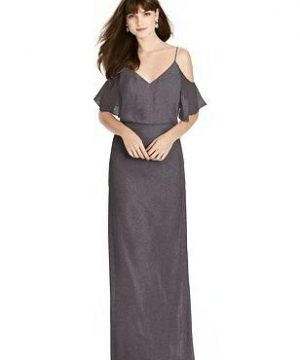 Special Order After Six Shimmer Bridesmaid Dress 6781LS