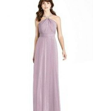 Special Order After Six Shimmer Bridesmaid Dress 6782LS