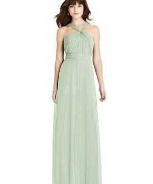 Special Order After Six Shimmer Bridesmaid Dress 6783LS