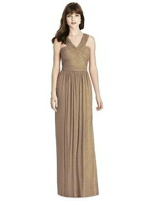 Special Order After Six Shimmer Bridesmaid Dress 6785LS