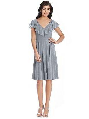 Special Order After Six Shimmer Bridesmaid Dress 6796LS