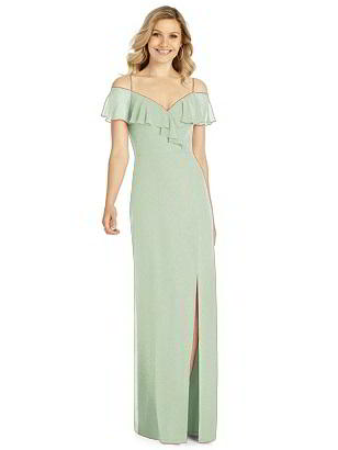 Special Order After Six Shimmer Bridesmaid Dress 6809LS