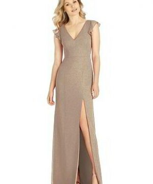 Special Order After Six Shimmer Bridesmaid Dress 6810LS