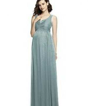Special Order After Six Shimmer Maternity Bridesmaid Dress M424LS