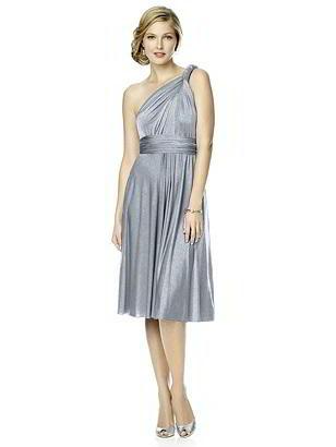 Special Order Shimmer Jersey Short Twist Dress