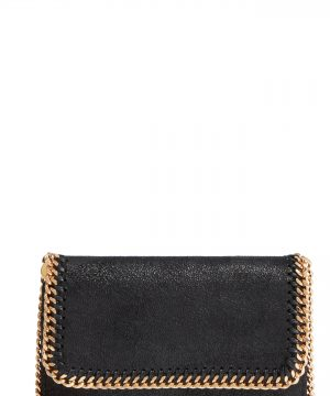Stella Mccartney Shaggy Deer Faux Leather Crossbody Bag -