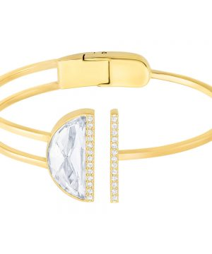 Swarovski Glow Bangle, White