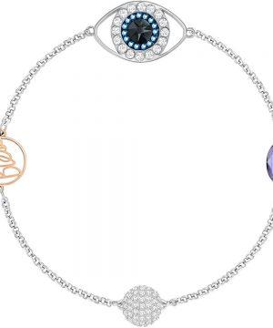 Swarovski Swarovski Remix Collection Eye Symbol Strand, Purple, Mixed plating