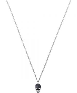 Swarovski Taddeo Pendant, Black, Palladium plating