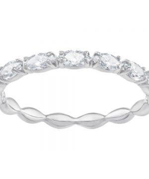 Swarovski Vittore Marquise Ring, White, Rhodium Plating