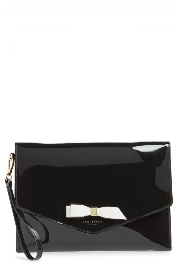 Ted Baker London Cersei Envelope Clutch - Black