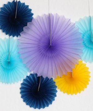 Tissue Paper Pinwheels
