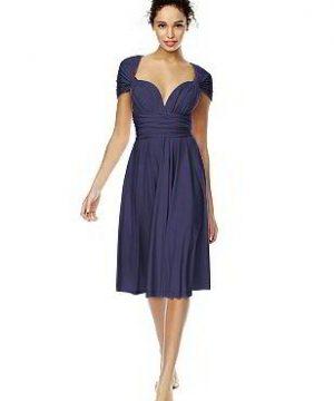 Twist Wrap Dress: Short