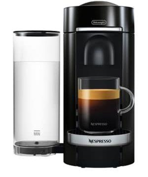 VertuoPlus Deluxe Coffee and Espresso Single-Serve Machine