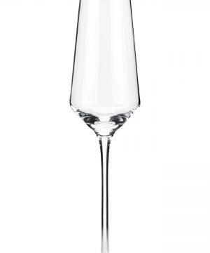 Viski Raye Set Of 2 Crystal Champagne Flutes