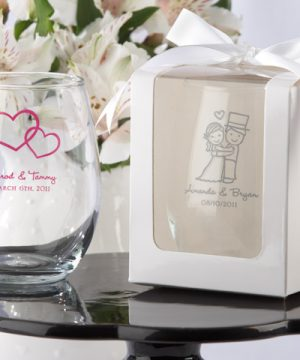 White 9 oz. Glassware Gift Box (Set of 12)