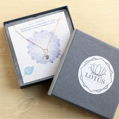 Wildflower Birthstone Necklace