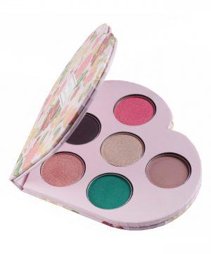 Winky Lux Smitten Heart Eyeshadow Palette -