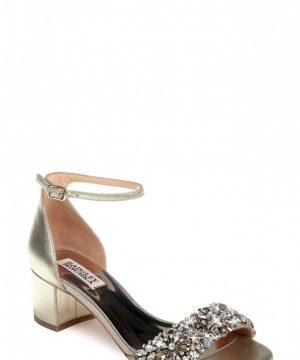 Women's Badgley Mischka Vega Ii Metallic Sandal