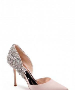 Women's Badgley Mischka Volare Crystal Embellished D'Orsay Pump