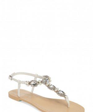 Women's Bella Belle Hera Embellished T-Strap Sandal