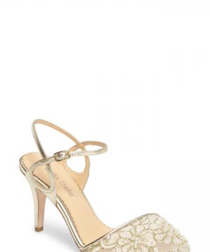 Women's Bella Belle Madeline Embellished Lace Pump