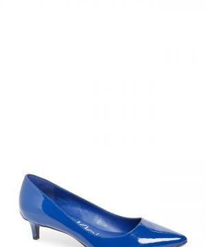 Women's Calvin Klein Gabrianna Pump, Size 9 M - Blue