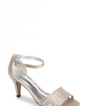 Women's David Tate 'Terra' Ankle Strap Sandal, Size 10.5 M - Beige