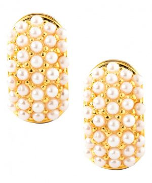 Women's Erwin Pearl Glass Pearl Reversible Earrings