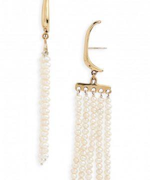 Women's Faris Swing Pearl Earrings