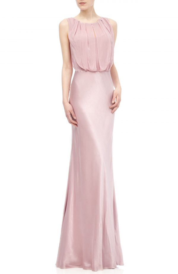 Women's Ghost London Claudia Cowl Back Gown