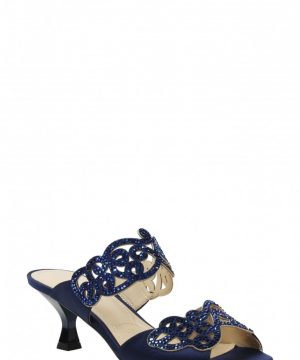 Women's J. Renee 'Francie' Evening Sandal, Size 8 B - Blue