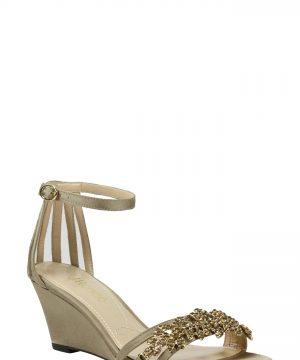 Women's J. Renee Mariabelle Ankle Strap Sandal, Size 6 B - Beige