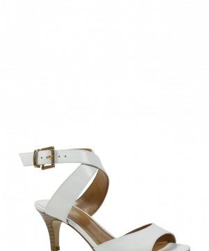 Women's J. Renee 'Soncino' Ankle Strap Sandal, Size 8.5 D - White