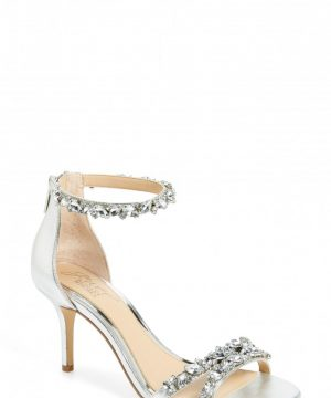 Women's Jewel Badgley Mischka Caroline Embellished Sandal