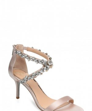 Women's Jewel Badgley Mischka Jaylee Sandal, Size 7 M - Ivory