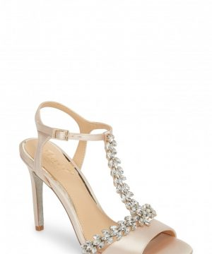 Women's Jewel Badgley Mischka Maxi Crystal Embellished Sandal