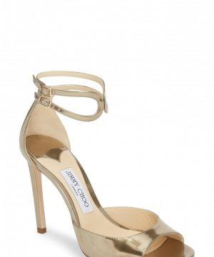 Women's Jimmy Choo Lane Ankle Strap Sandal
