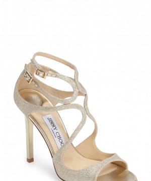 Women's Jimmy Choo Lang Glitter Sandal